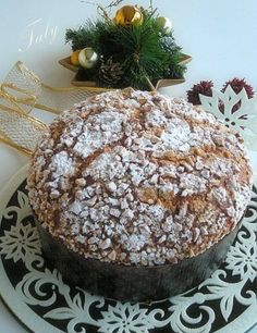 Il Pandorlato by Taly Christmas And New Year, Christmas Time, Camembert Cheese, Thanksgiving, Bread, Baking, Sweet, Cakes, Holidays