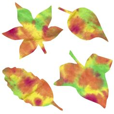 These easy, fun Coffee Filter Fall Leaves will put big smiles on the kids faces as they watch the color spread and mix. Beautiful decoration for windows