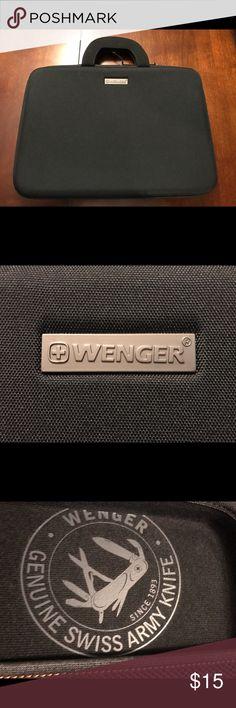 "Wenger Swissgear 14"" laptop slim case Wenger swissgear 14"" laptop slim case. Excellent condition. Wenger  Bags Laptop Bags"