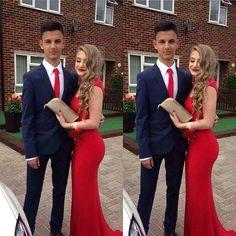 red Prom Dress,simple Prom Dress,cheap Prom Dress,long Prom Dresses,mermaid evening Dress,BD3883