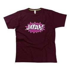 Jayzus Gent's T-Shirt by Hairy Baby