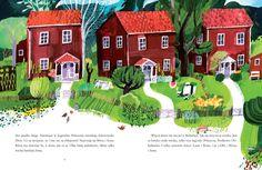 polska ilustracja dla dzieci: Nowość - Dzieci z Bullerbyn