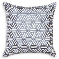 Jonathan Adler Stella Web Pillow - lovely sheen to the thread