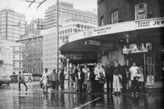 Ans Westra Corner of Bowen St & Lambton Quay, Wellington, 1974 [No prints available] _______ Wellington New Zealand, New Zealand Landscape, Documentary Photographers, Artist Life, Auckland, Documentaries, Art Gallery, Youth, Corner