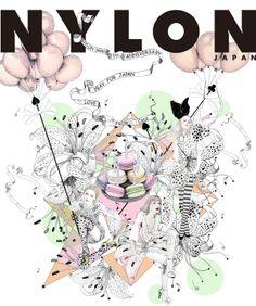 nylon-cover-coco-illustrator-cocopit-illustration-japan-八代久里