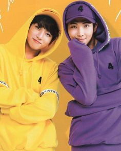 Jungkook and RM #BTS