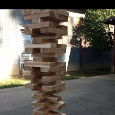 Giant Jenga would make a great class project auction item