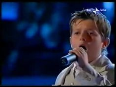 """A horrifying example of a grotesque imitation of aggressive adult singing in a child. Poor Jacopo Menconi. It is not his fault. This is disturbing because of the extreme lack of musicality, and it is also physiologically very dangerous for the vocal organ. A little boy can be a soprano or a contralto, but never a """"tenor""""."""