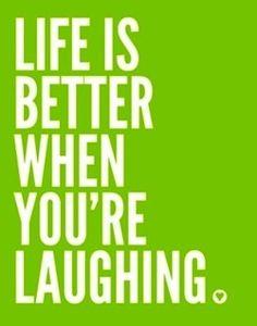 must laugh more