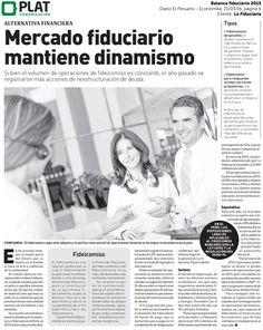 La Fiduciaria: Balance fiduciario en el diario El Peruano (21/03/16)
