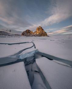 thebeautyofrussia:  Хрустальный Байкал - Crystal Lake...