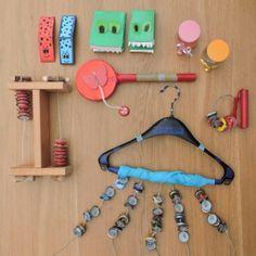Ideeën om muziekinstrumenten te maken + de werkwijze! DIY musicinstruments, zelfgemaakte muziekinstrumenten, muziek met kinderen, instrumenten, muziek