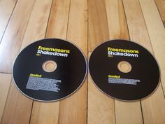 FREEMASONS Shakedown 2-CD Set Missing Cover Insert & Jewel Case