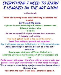 I love art!
