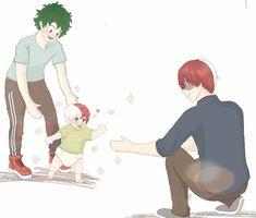 Deku X Todoroki, Sad Anime Quotes, My Hero Academia Shouto, Love My Boys, Anime Boyfriend, 19 Days, Kageyama, Cute Gay, Boku No Hero Academy