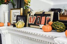 Halloween Mantel Decorations 2015