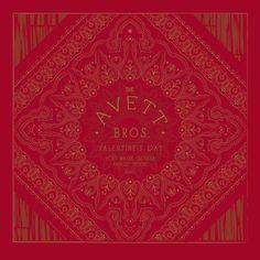 """The Avett Brothers - """"Red Bandana"""" Fort Wayne, IN Gig Poster - by Charles Crisler / 27designco.com"""
