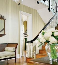 50 Gorgeous French Country Interior Design Ideas | Shelterness I love the black railing with white