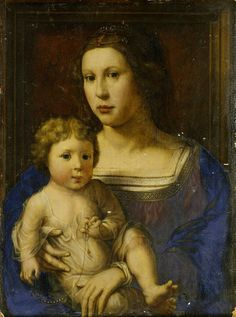 Jan Gossaert or Jan Mabuse (1478-1532) — Madonna and Child   (939x1200)