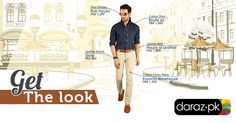 #GettheLook  There is nothing more impressive than a suave man who is known for his sophisticated approach to his own dressing. As a man's footwear tells of his character; his dressing sense and style, seconds this motion. So go for this classy, effortless smart casual look and enjoy distinction at its best.