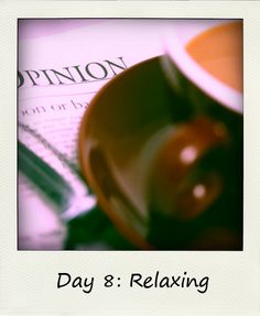 Library Girl Reads & Reviews: Relaxing #BlogFlash2012 Day 8