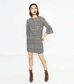 PERFECT PLAID Menswear plaids are a huge trend for S/S 17 and can be worn in styles ranging from oversize blazers to mini dresses such as this. Zara Printed Mini Dress ($50)