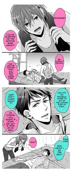 Rin AND sousuke part 1