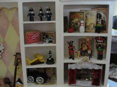 Maison de poupées miniature échelle 1//12th PK De 4 en bois Rideau polonais C92