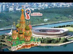 🌎 Copa do Mundo de Futebol de 2018 na Russia | Estádios e Cidades Sede