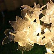 10m de 38 LED Snowflake Luzes Cordas Árvores ... – BRL R$ 111,15
