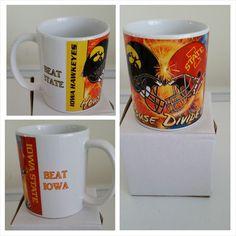 House Divided Cylones/Hawkeyes Mug- www.facebook.com/mgspromos