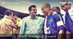 Curiosidades: Aécio é Cruzeiro de Coração