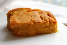 I got this recipe from my weight watchers group. I admit I do prefer traditional pumpkin pie but this is pretty good. All the ingredients are core, too, even though baked goods dont qualify as core due to abuse potential.