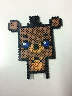 Five Nights At Freddy's - Adorable Freddy (perler)