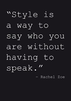 The fabulous Miss Zoe...let us help YOU say who you are.