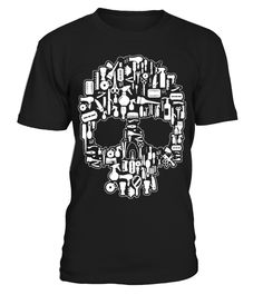 Hair-Stylist-Sugar-Skull-T-shirt-001