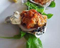Barbecue Oysters Recipe (Photo courtesy of Lilly's)