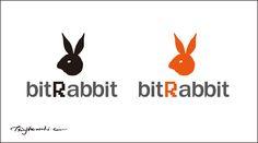 logo design for bitRabbit