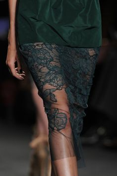 noticing more as symbolism in textiles and fabric as age of transparency emerges© with love dd©...Vera Wang Spring 2013 - Details