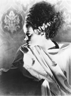 "Vintage Glamour Girls: Elsa Lanchester in "" The Bride Of Frankenstein """