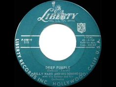 1957 HITS ARCHIVE: *Deep Purple* - Billy Ward & His Dominoes - YouTube