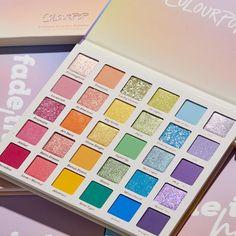 Pastel Eyeshadow Palette, Colourpop Eyeshadow Palette, Colourpop Cosmetics, Eye Palette, Makeup Palette, Eyeshadows, Rainbow Palette, Makeup Kit, Makeup Products