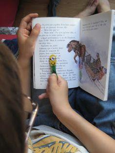 """Bâton de lecture, marque-page """"Mignon """" http://mamanjesaispasquoifaire.blogspot.fr/2013/09/baton-de-lecture-marque-pages-mignons.html"""