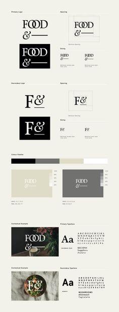 Logo Design / Food& on Behance