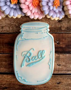How To Decorate A Cookie Jar Pinanne Nelson On Mason Jar Cookies  Pinterest  Mason Jar