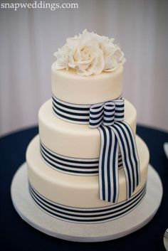 Nautical Wedding - Nautical A Cake #2042715 - Weddbook