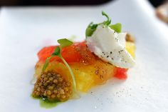 Heirloom tomato and
