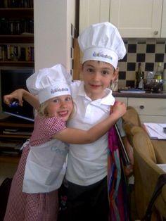 KiddiChef's busy in the kitchen