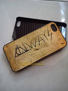 Harry Potter Deathly Hallows on iPhone 5C Case, iPhone 5S/5 Case, iPhone 4S/4 Case, Samsung Galaxy S3/S4, Premium Case Cover