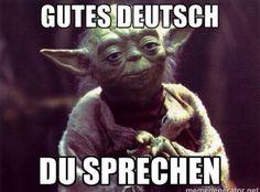 Gutes Deutsch du sprechen